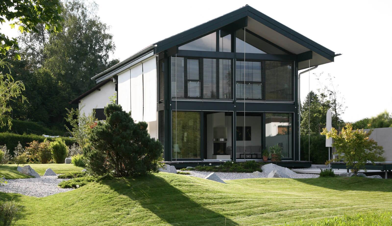 am biberteich satteldach klassikerhaus s7 10 5 kompakt und effektiv werkhaus gmbh. Black Bedroom Furniture Sets. Home Design Ideas